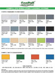 CONPELL Epo & Poly Shield Colour Card